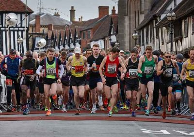 Rotary's Shakespeare Marathon or Half Marathon takes place in Stratford upon Avon, where there is plenty to see and do for a weekend. It starts in the historic town centre, opposite Shakespeare's old school.